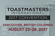 Toastmasters International 2017 Convention